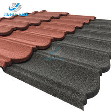 china roof tile roofing sheet galvalume stone color coated metal roof tiles