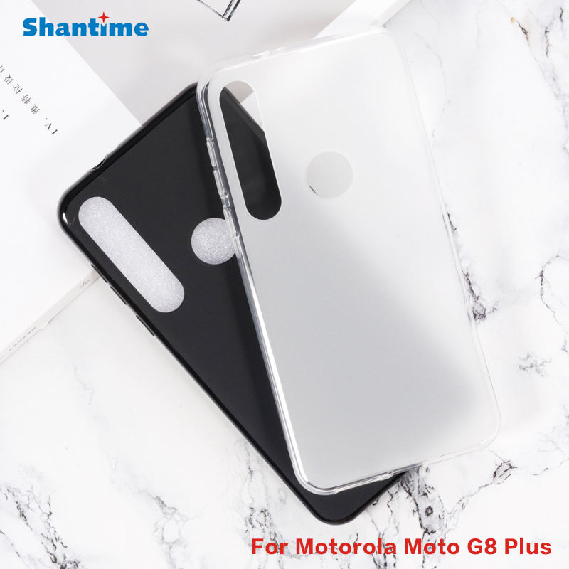 For Motorola Moto G8 Plus Case Ultra Thin Clear Soft TPU Case Cover For Motorola Moto One Vision Plus Couqe Funda