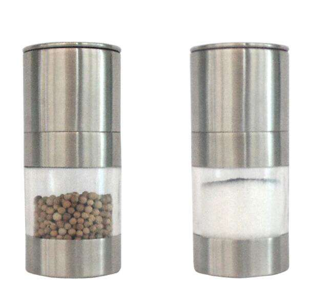S07 Kitchen pepper mill salt mill cumin grinding professional Pepper grinder Hand use Stainless steel pepper mill