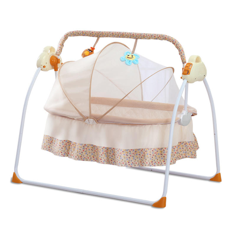 2021 Newest musical baby swing bed 107 USB blue tooth baby swing cradle