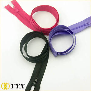 Cheap prices 15 cm 70 cm open end No.8 nylon zipper
