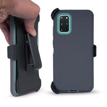 Shockproof heavy duty 3 in 1 tpu pc holster hybrid defender phone case with clip for iphone 11 pro max