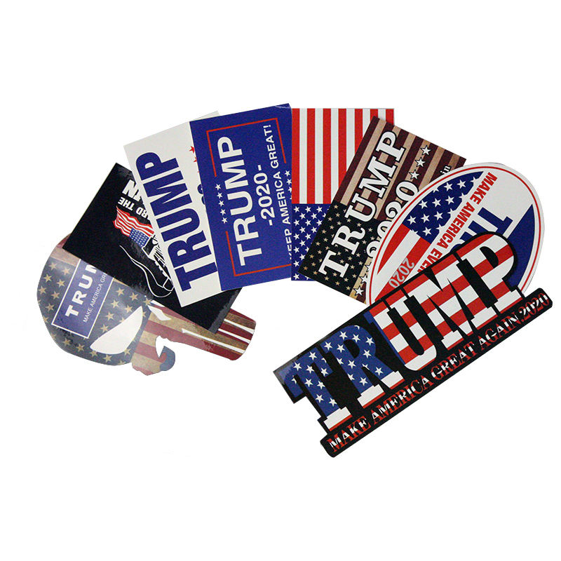2020 China factory wholesale removable US Presidential Election Trump Vinyl Sticker