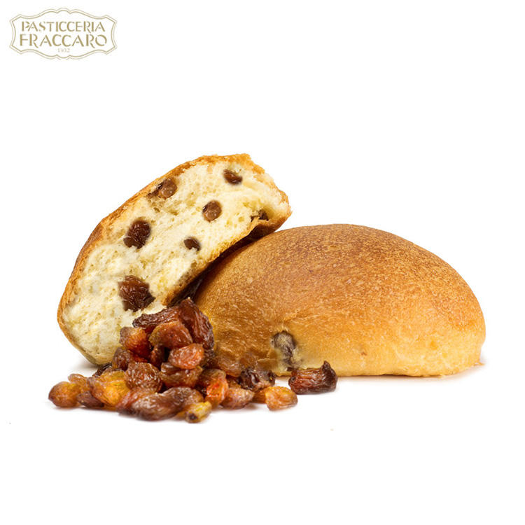 Factory supply deilicious naturally leavened sweet raisin bread baked italian