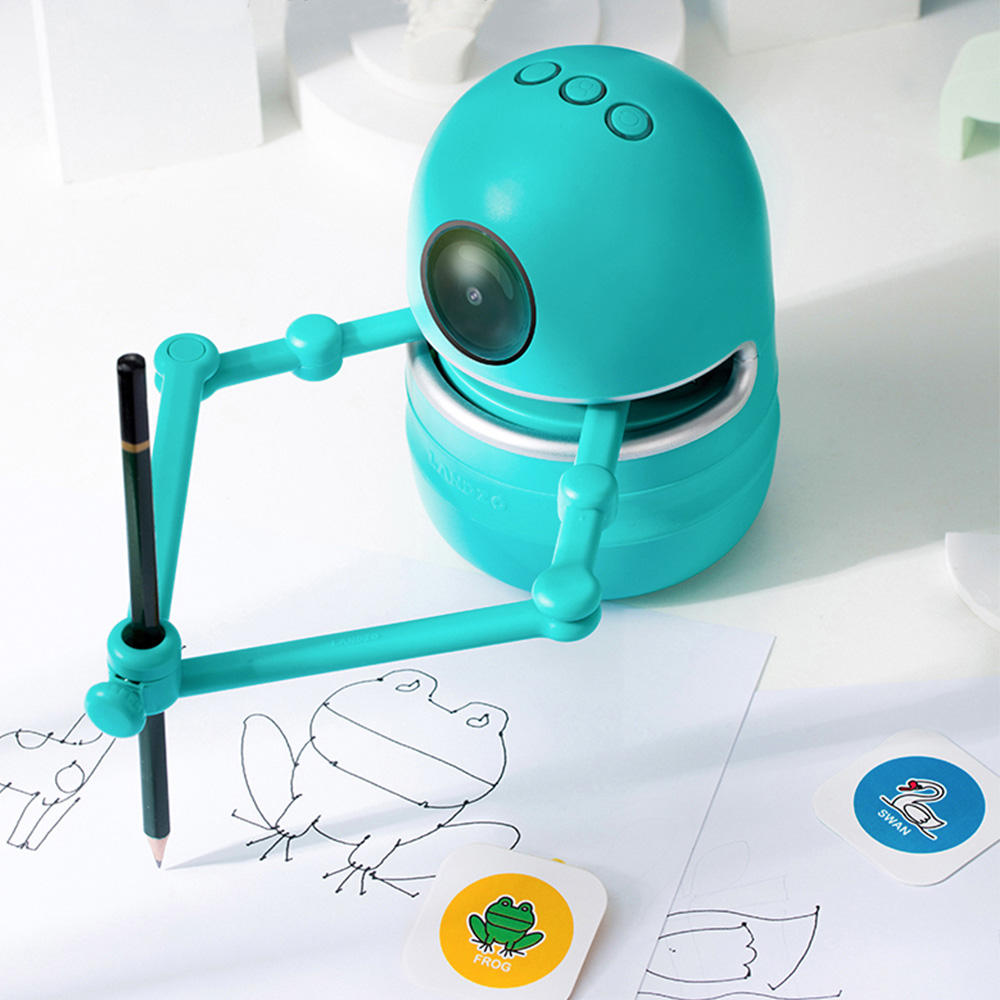 Hot sale popular smart toy drawing robot for kids Quincy wholesale