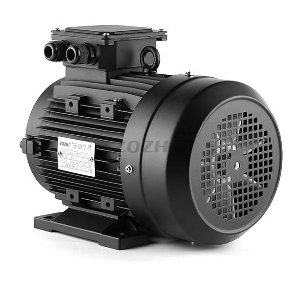 1 Phase Hollow Shaft Motor , 3.7kw 5hp Asynchronous AC Motor With Female Shaft