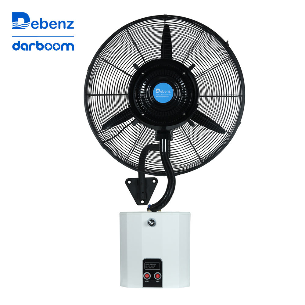 High quality table fan water cooling spray hanging fans