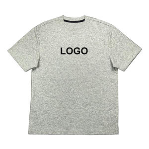 New Develop Unisex Cotton Interlock Casual T-Shirts With Customized Logo