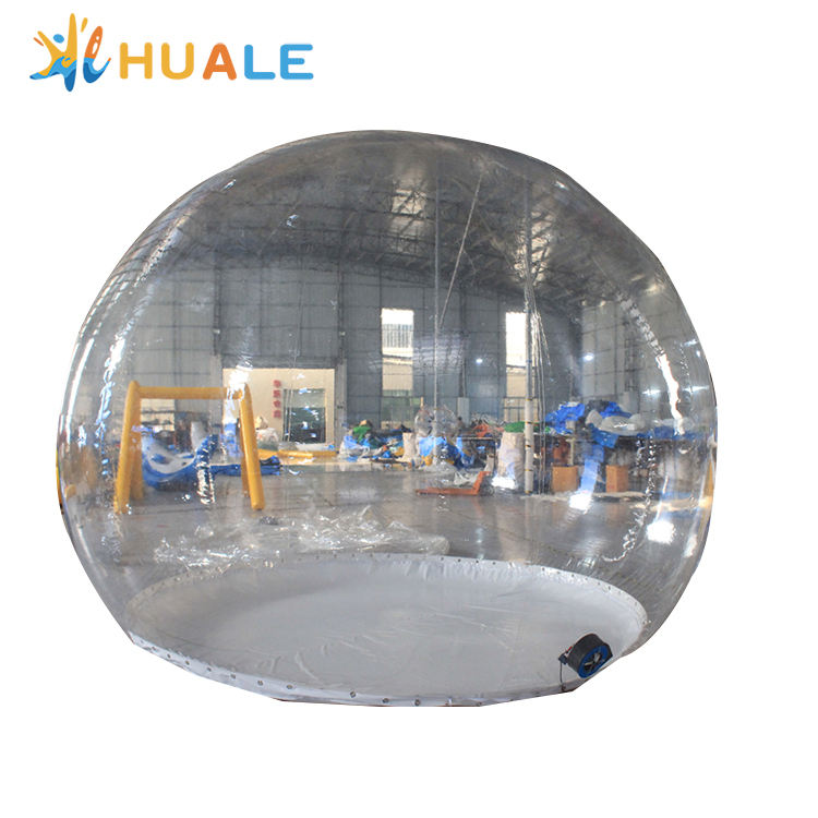Huale Factory Clear 4m Diameter Inflatable Bubble Dome Tent