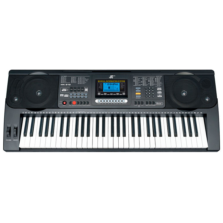 MK-812 Electronic Organ Keyboard 61 Keys Lighting Piano Keyboard