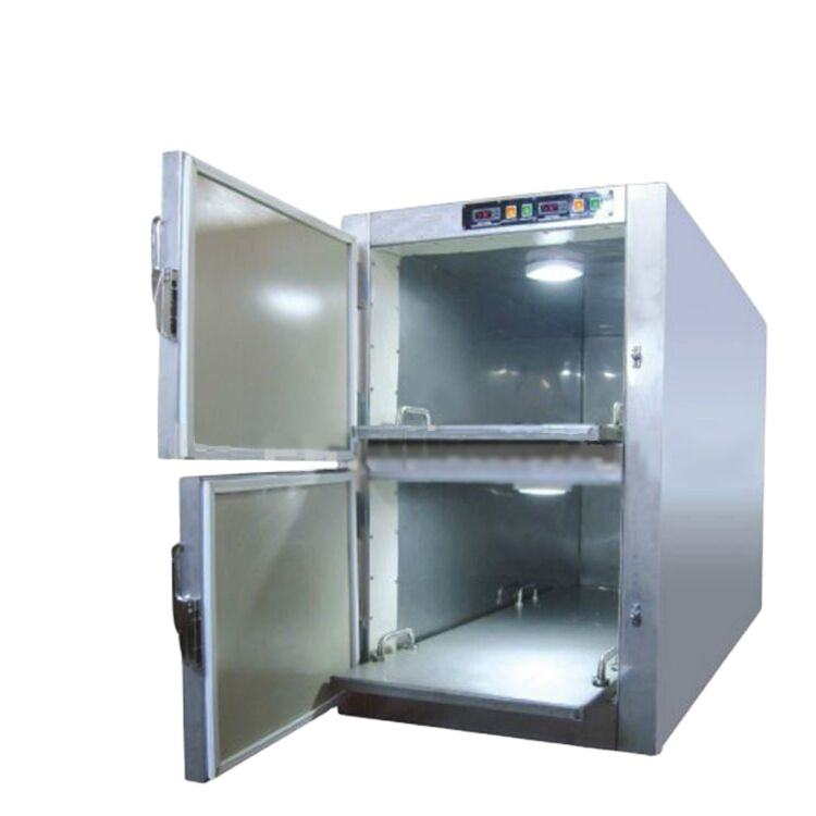 THR-STG2 mortuary refrigerator with 2 layers
