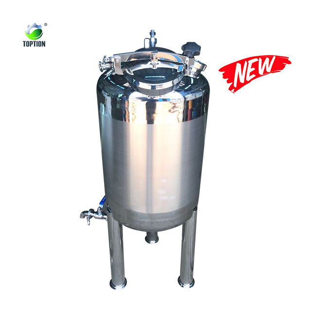 stainless steel storage tank for ethanol extraction centrifuge liquid storage tank