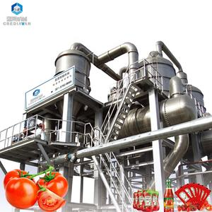 ketchup tomato paste processing plant