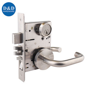 American standard ANSI UL listed Fire Rate Security Mortise Door lock for Hotel