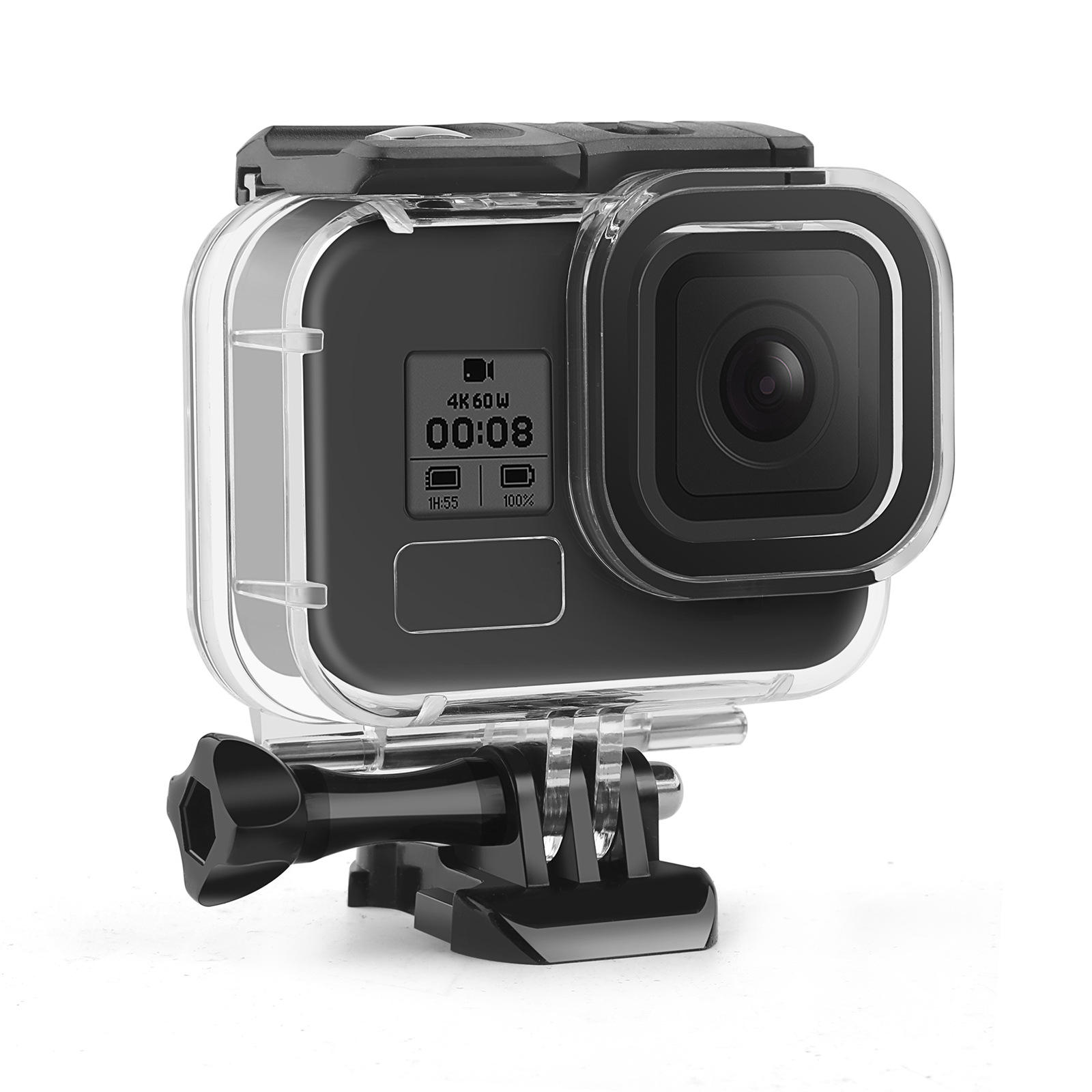 for gopro 9 waterproof case Hero 9 diving protective case Sport camera accessories lens diving case 45m waterproof hero8 5 6 7