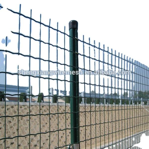 PVC Coated 6ft Holland Welded Wire Fence 4x4 3x3 2x2 mesh with 2.1M fence post (Manufacturer,High quality,Low price)