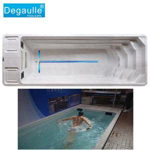 ingroumd endless swimming pool 5 mtr with wood to swim training in an endless pool wholesale swim spa