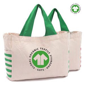 custom printing promotion standard size cotton tote canvas tote bag