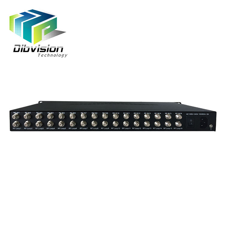 dvb t2 Coaxial cable satellite receiver 16 free to air tuner in