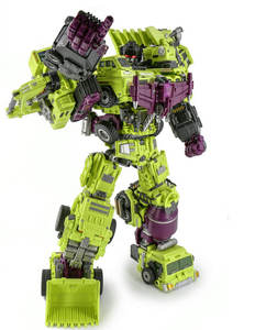Oversized Devastator Transformation Toys Cool KO Action Figure Robot Car Trucks Hook Model Boy Toys