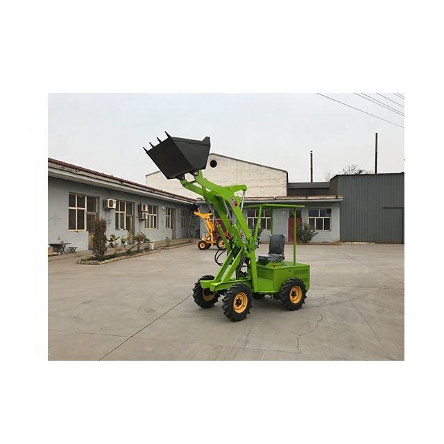 Material transportation earth stone construction machinery silent electric small forklift loader