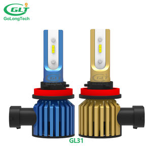 car GL31 H8 brightness h11 good dissipation 9005 9006 car h11 auto led H4 H7 headlight bulbs