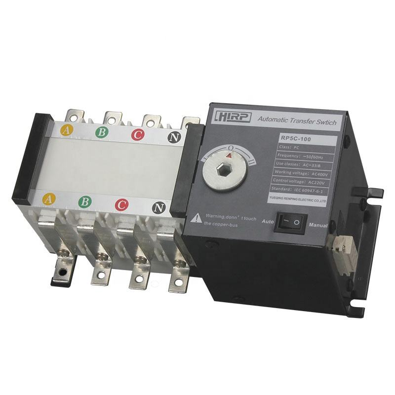 RP5C-100 100 AMP 3 Phase Automatic Transfer Switch <span class=keywords><strong>ATS</strong></span> 220 V