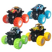 Toys Children Friction Cars Pull Back Car Hot Two-sided Rolling 360 Stunt Car Toy