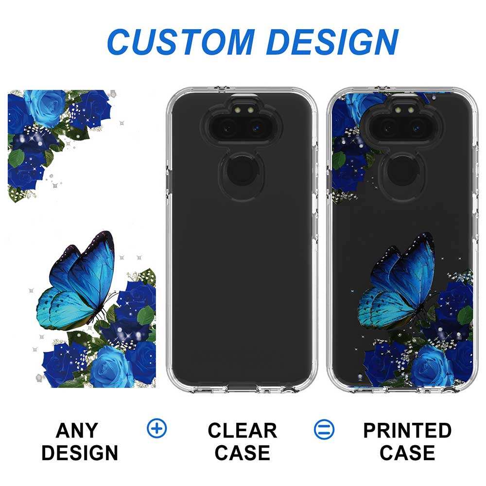 OEM Dual Layer Protection 2 In 1 Custom Printed PC Soft TPU Mobile Covers Cell Phone Case For Iphone 11 Pro Max 12 Mini