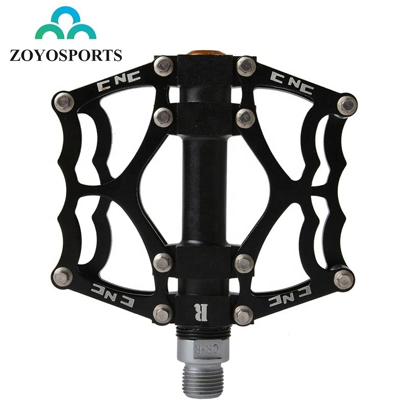 "ZOYOSPORTS MTB BMX DH Bike Parts Aluminum Body Axle 9/16"" Cr Mo Spindle Cycling Seal Bearing Bike Bicycle Pedal"
