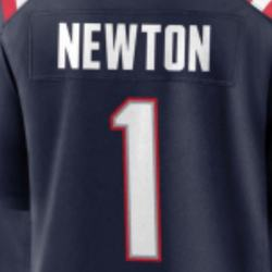 Cam Newton New Navy Best Quality Stitched American Football