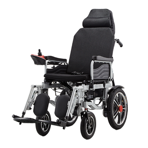 UJOIN high back 4 wheel joystick power wheel chair for disabled and elderly