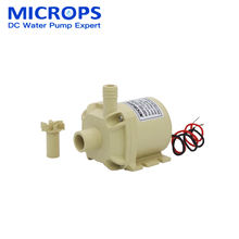 Microps New arrival dc pumps 12v Manufacture small electric water pump best quality for cooling water circulating pump