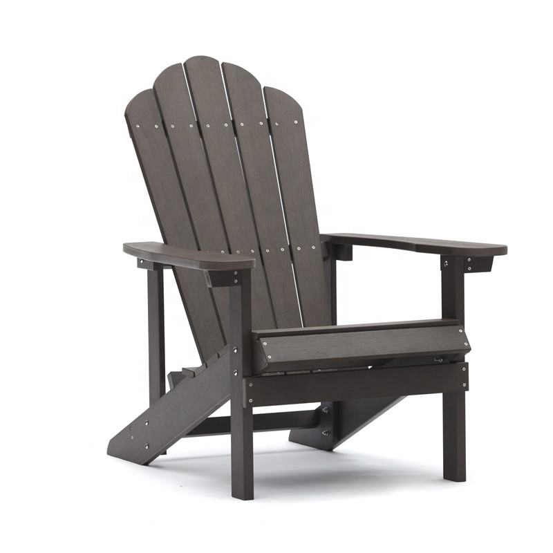 High Quality Waterproof Patio Garden Plastic Adirondack Chairs American Style Adirondack Chair Foldable
