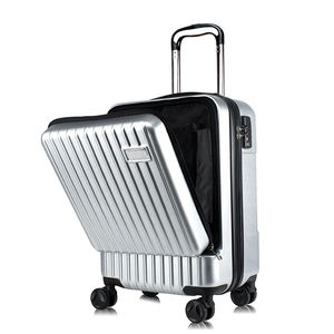oytb-9031 abs pc smart suitcase bluetooth luggage business design luggage with a front access pocket