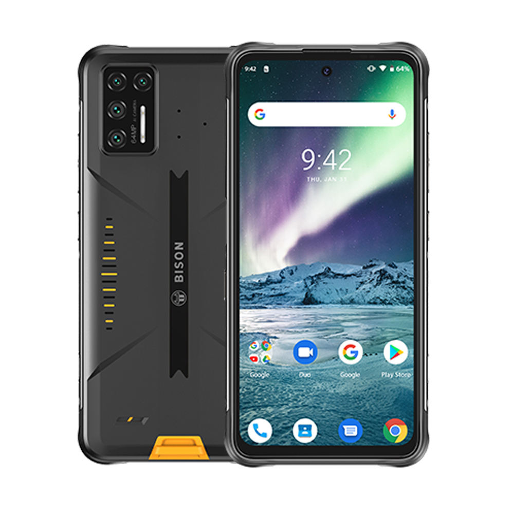 "Umidigi Bison Gt Waterdichte IP68/IP69K Helio G95 Robuuste <span class=keywords><strong>Telefoon</strong></span> 64MP Ai Quad Camera 8Gb + 128Gb 6.67 ""Fhd + 33W Charger Smartphone"