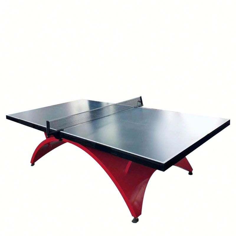Дешевые синий стол для пинг-понга завод стол для настольного тенниса предварительно окрашенная оцинкованная сталь) с низкой ценой