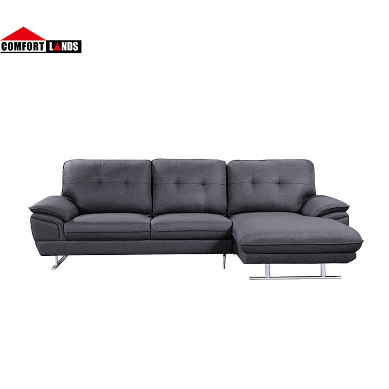 Shenzhen factory good quality spanish style seating room furniture l shape sectional sofa