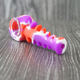 Hottest China Supplier Fish Bone Silicone Smoking Accessories Tobacco Hand Pipe Glass Bowl Smoke Pipe