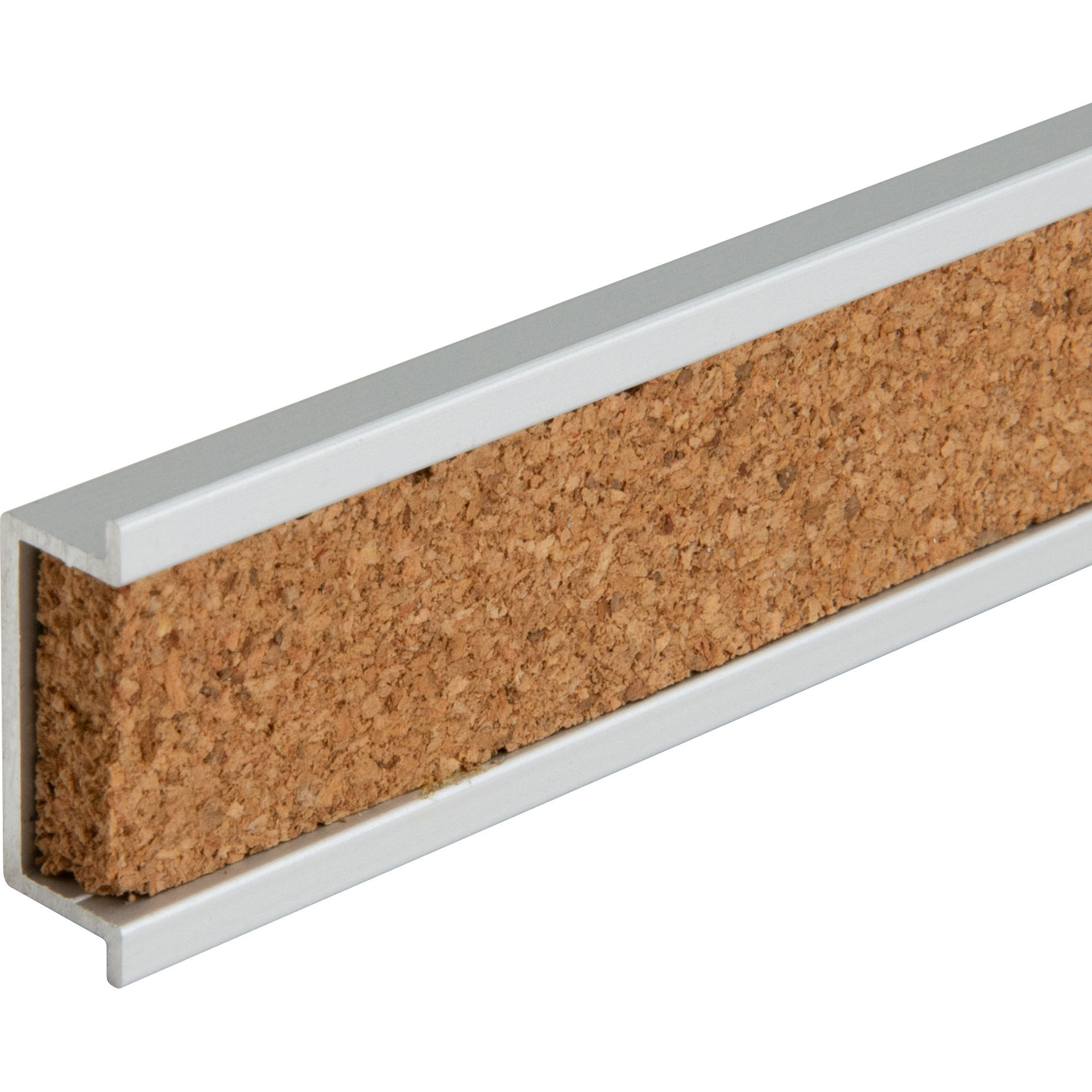 High Density Cork Strip /Bulletin Bar For Office Home And School