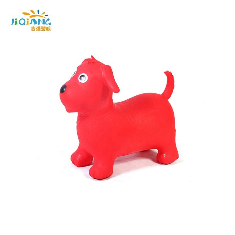 With Low Price customized color dog cheap kids jumping animals