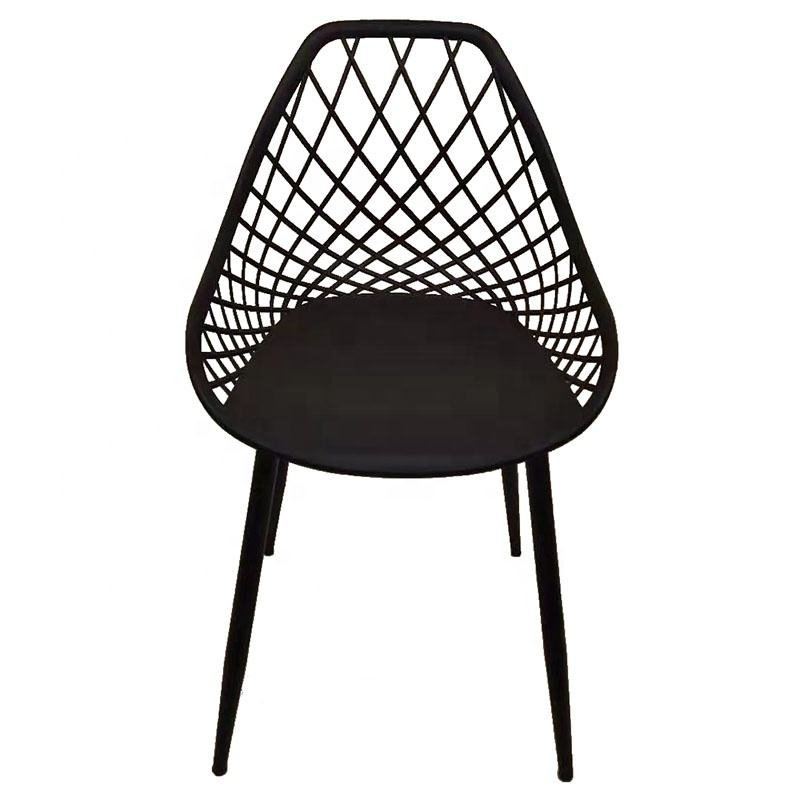 Free sample home furniture modern design dining chairs mesh back cheap plastic colorful dining chair price