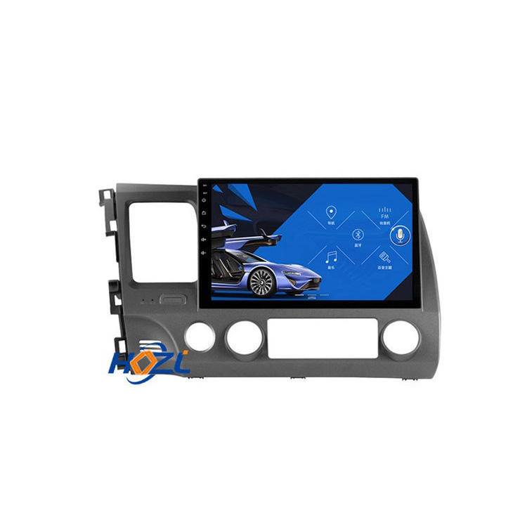 "Universal Android 10 10 ""2Din Car Radio <span class=keywords><strong>DVD</strong></span> For Honda civic 2006-2011 WiFi Stereo GPS Multimedia Player"