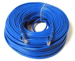 RJ45 CAT 5e atau CAT6 Patch Cord(3 Kaki, Biru)
