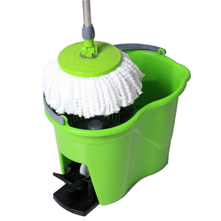 Factory Manufacture 360 Squeeze Bucket Magic Easy Mop Rotation Microfiber Cleaning Spin Mops