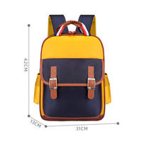Hot sale cartoon proof customize logo backpack school bags for kids