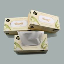 Ultra soft box facial tissue Disposable facial tissue