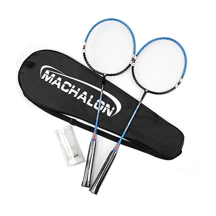 Custom Logo 2 Lichtgewicht Carbon Badminton <span class=keywords><strong>Racket</strong></span> Joint Minder Een Stuk <span class=keywords><strong>Racket</strong></span> Badminton Set Met Ballen
