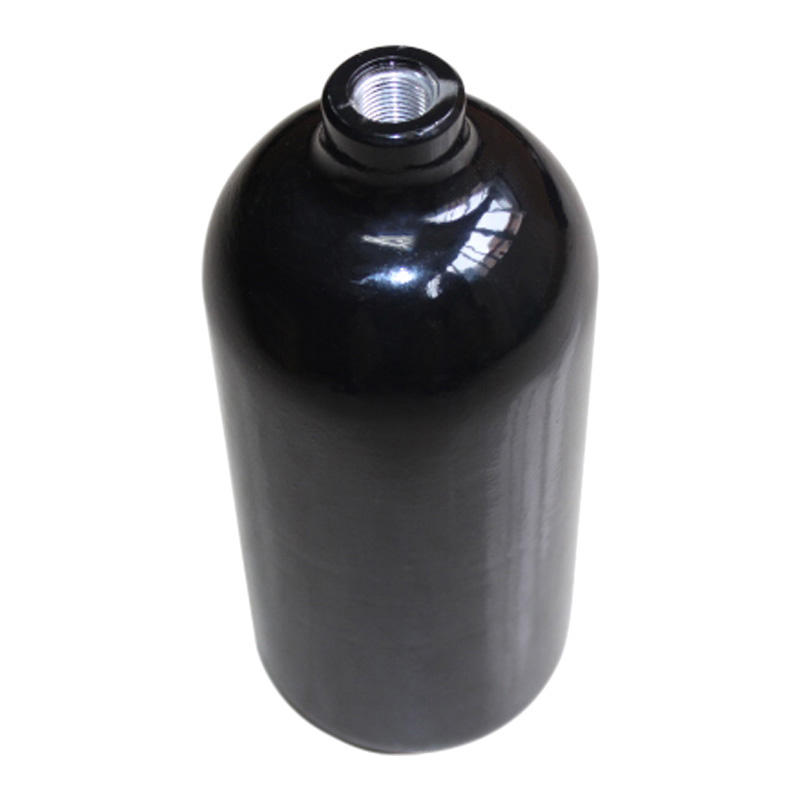 Aluminium [ Co2 Paintball Tank ] Co2 Working Pressure 124bar Aluminum Alloy 0.8L 20oz Co2 Paintball Tank