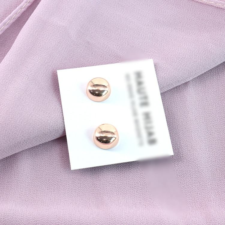 Customize magnetic hijab pins luxury hijab accessory can add your LOGO hijab pins